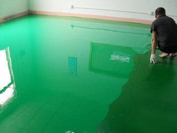 环氧树脂净化地坪 (2)
